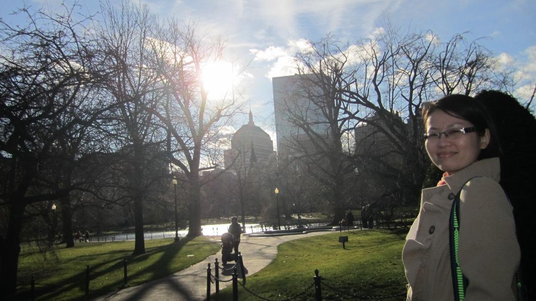 Boston Public Garden. Photo: Hanh Le