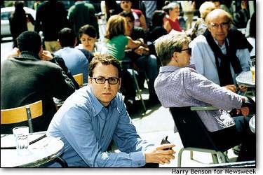 The Fabulist's author, Stephen Glass in Newsweek 2003. Photo: rickmcginnis.com