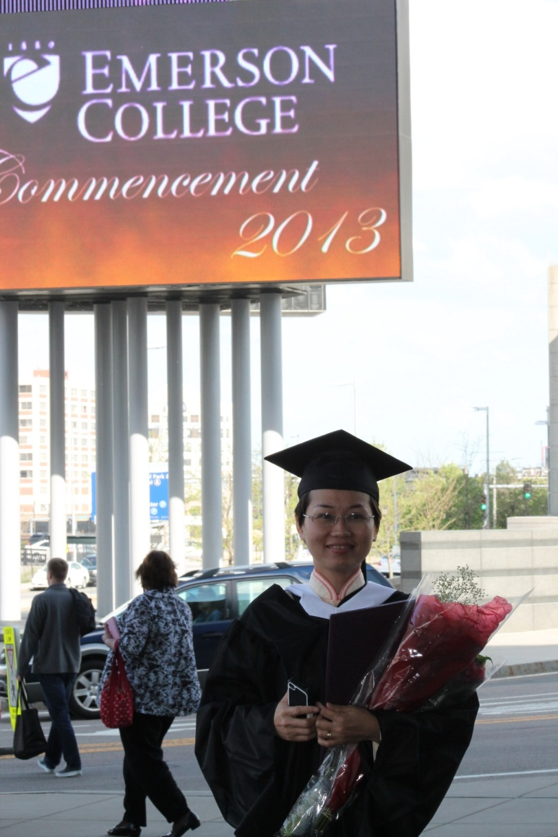 Though the commencement wasn't perfect, I was happy to be part of it. Photo: Diep Ngoc Dung