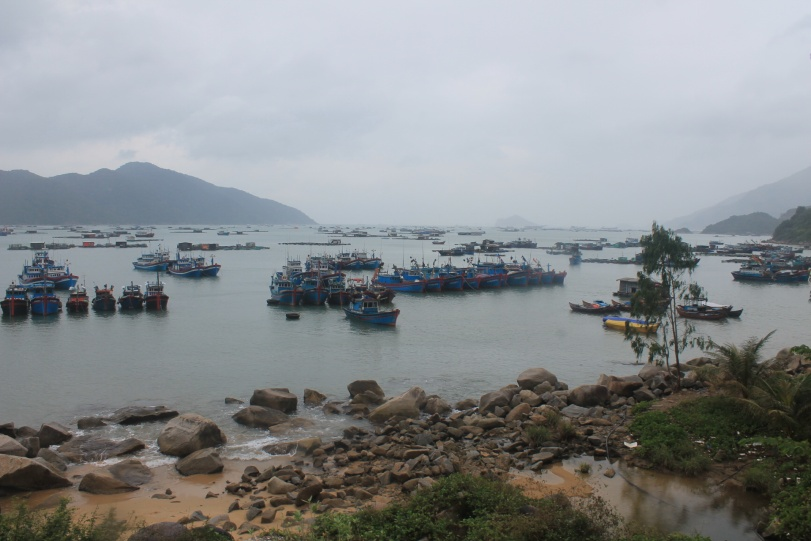 Vũng Rô Bay, a bonus Uncle Seven offered to me during my trip. Photo: Mai Ngọc Châu