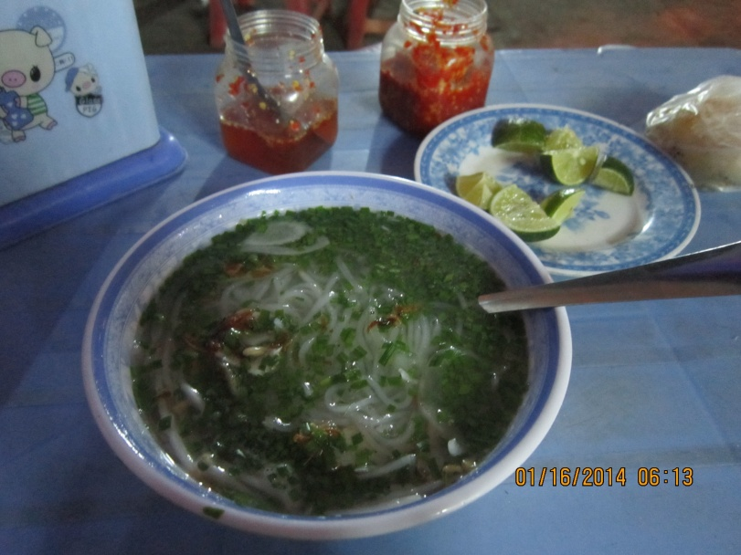 My first food in Phu Yen. Photo: Mai Ngoc Chau
